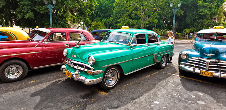 This is a photo of green classic car, one example of Stonewall Insurance's coverage options.